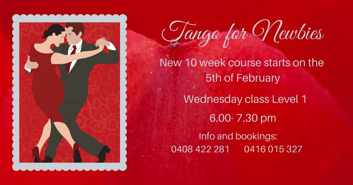 Tango for Newbies - Tango Bajo @ South Yarra | Victoria | Australia
