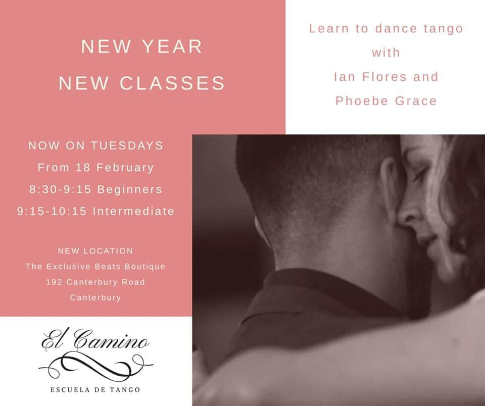 El Camino de Tango - Beginners @ The Exclusive Beats Boutique | Canterbury | Victoria | Australia