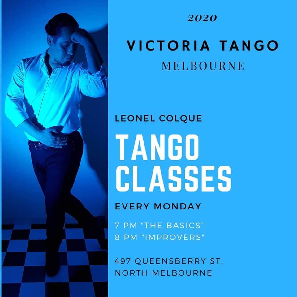 Victoria Tango - Beginner Class @ Czech Club | North Melbourne | Victoria | Australia